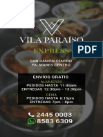 Menu Vila Paraíso Express 03-2020