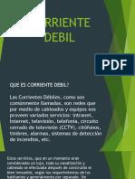 Clase 2 Corrientes Debiles