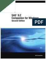 SAS 9.2 Companion for Windows, Second Edition