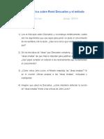 Trabajo Práctico - René Descartes y el método