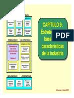 Tema 9 Estrategias con base a las características de la industria