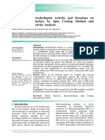 Assay of bacteriorhodospin Actity by Spin Coating Method