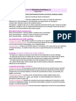 Cours n°1 - Marketing Analytique (1)