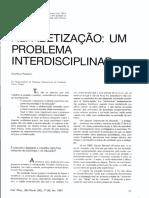 POPPOVIC_ALFABETIZAÇÃO_PROBLEMA_INTERDISCIPLINAR