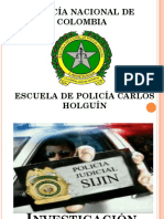 INVESTIGACIÓN JUDICIAL PNC