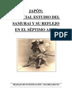 JAPÓN.. ESPECIAL ESTUDIO DEL SAMURAI Y SU REFLEJO EN EL SÉPTIMO ARTE.pdf