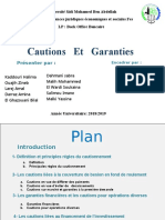 Cautions   Et   Garanties