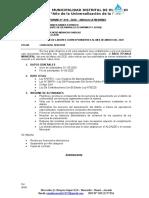 INFORME Nº 010-2020 -informe de actividades
