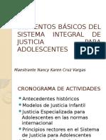 ELEMENTOS BÁSICOS DEL SISTEMA INTEGRAL DE JUSTICIA PARA
