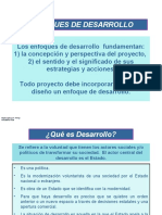 DISEÑO DE PROYECTOS DE DESRROLLO
