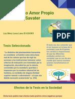 Etica Como Amor Propio Fernando Savater