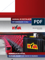 Manual Instalacao Kit Hidráulico - E-line