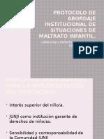 Protocolo de abordaje institucional de situaciones de maltrato 2018