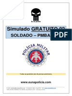 SIMULADO CONCURSO SOLDADO PMBA