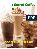 eBook Secret Resep Buat Coffee Recipes