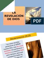 REVELACION DE DIOS