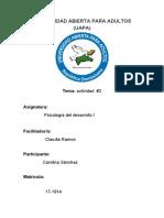 tarea 2 de psicologia del desarrollo I