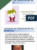 Técnicas Modificación de Conducta.ppt