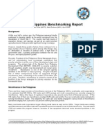 2004 Philippines Bench Marking Report