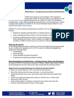 Guidance Document - Retail Stores