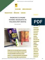 Padre ricco padre povero_ riassunto in italiano [PDF gratis]