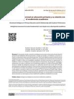 La inteligencia emocional en educación primaria y su relación con el rendimiento académico en educación primaria.pdf