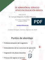 PROCESO DE ADMISIÓN AL SERVICIO PÚBLICO EDUCATIVO EN EDUCACIÓN BÁSICA