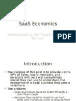 SaaS Economics by David Skok
