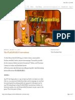 Jeffs Gameblog The FLAILSNAILS Conventions