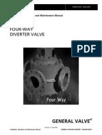 Valvula 4 vías - IOM -  General Valves Cameron