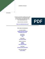 7 conferencias sobre el apocalipsis LEONARDO CASTELLANI