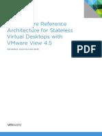 VMware View 45 Stateless