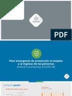 Propuesta Económica de Protección Al Empleo COVID-19