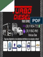 Cartao de visita Turbo Diesel 1.0