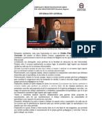 SEMANA 1 - GESTIÓN PEDAGÓGICA E INNOVACIÓN CURRICULAR (2-8 SEPT)