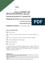 Protocolo Lavoisier segunda parte