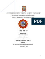 SILABO geologia general  2018 2