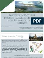 FORTALECIMIENTO DEL TURISMO PARA ELMUNICIPIO DE  GÜICÁN,