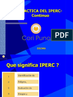 Practica del IPERC - Continuo
