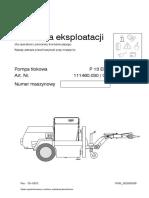 P 13 Instrukcja Eksploatacji