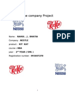 The Company Project Kit Kat