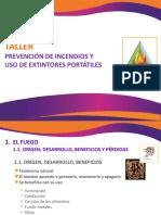 TALLER DE INCENDIOS - MÓDULO 1