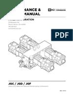 JGC-JGD-JGF MAINTENANCE & REPAIR MANUAL