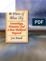 Atack, Jon - A Piece of Blue Sky -  Scientology, Dianetics and L. Ron Hubbard Exposed