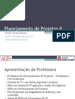 Planejamento de Projetos Gerenciamento de Riscos