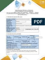 Guía de Actividades Paso 2 - Reconocimiento de La Problemática ACCIÓN PISO Y JURIDICA