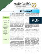 Boletín Información Científica - Diciembre 2010