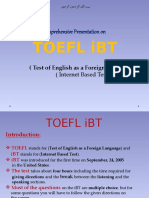 toefl IBT presentation