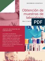 Obtención de muestras de laboratorio