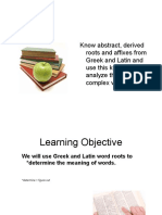 Greek Latin Roots revised for 4th.ppt